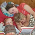 lesen und schlafen