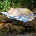 schlafen im Paradies